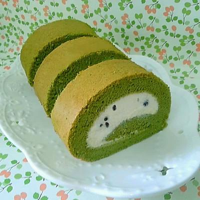 抹茶蛋糕卷