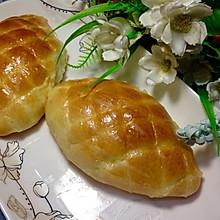 网纹肉松面包
