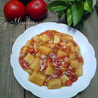 番茄米豆腐