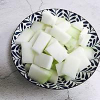 蚝油虾皮炒冬瓜#就是红烧吃不腻!#的做法图解2