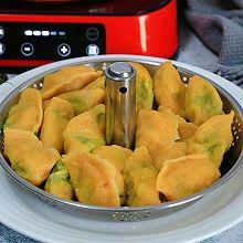 胡萝卜皮鸡蛋韭菜饺子