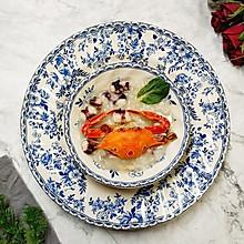 花蟹章鱼粥