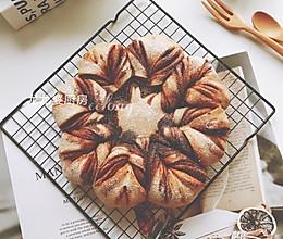 """#甜蜜暖冬,""""焙""""感幸福#【红糖肉桂全麦面包】的做法"""