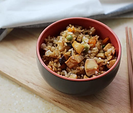 吃独食--香菇鲍鱼炒饭的做法