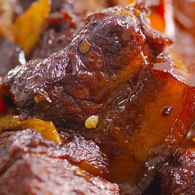 湖南家常红烧肉:湖南最家常的红烧肉,这样做超下饭!