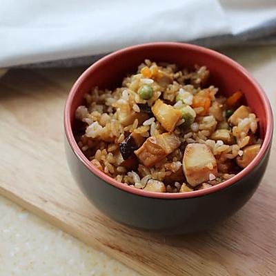 吃独食--香菇鲍鱼炒饭