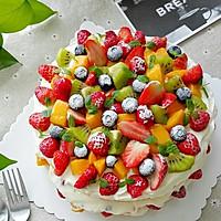 水果奶油裸蛋糕(八寸)#豆果5周年#的做法图解22