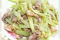 佛手瓜炒肉片的做法