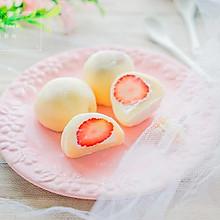草莓雪媚娘#舌尖上的春宴#