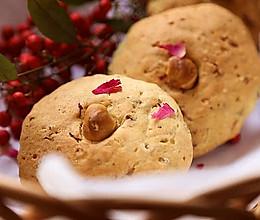 一口芳香酥至内馅的中式创意点心--【玫瑰榛子酥】的做法