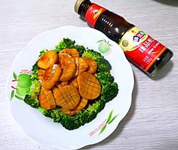 #下饭红烧菜#素食更美丽~素烧杏鲍菇的做法
