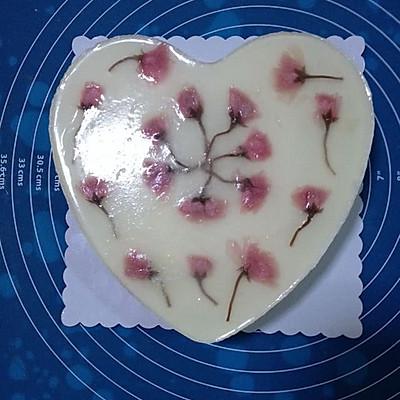 樱花芝士慕斯蛋糕