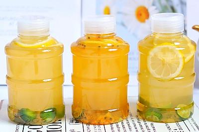 自制超好喝的金桔柠檬茶,比买的还好喝