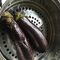 #一人一道拿手菜#清蒸茄子的做法图解4