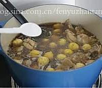 秋冬季最应景的经典滋补菜肴——栗子炖鸡的做法图解10