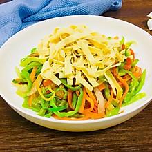 杂蔬豆腐皮