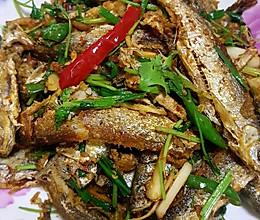 香煎刁子鱼的做法