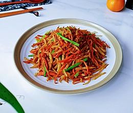 葱姜萝卜卜留克的做法