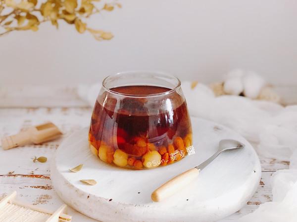 红枣桂圆枸杞莲子糖水的做法