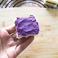 #好吃不上火#紫薯芋泥西多士的做法圖解7