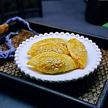 #带着零食去旅行!#紫薯酥