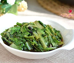 豆豉油麦菜#MEYER·焕新厨房,唤醒美味#的做法
