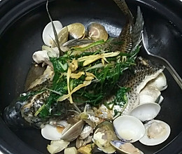 沙白砂锅火焰鱼的做法