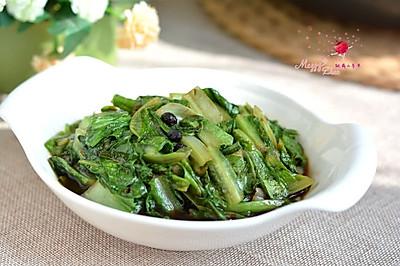 豆豉油麦菜#MEYER·焕新厨房,唤醒美味#