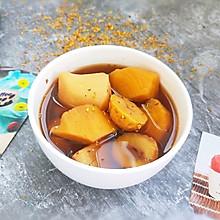 #洗手作羹汤#红薯板栗快手甜汤
