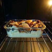 橙香葡萄干面包布丁,让面包更美味的吃法#秋天怎么吃#的做法图解7
