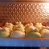 青蛙凯蒂挤挤包(一次发酵)#网红美食我来做#的做法图解25