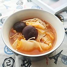 好吃不胖冬日暖暖の番茄素什锦暖锅
