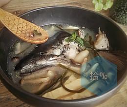 三文鱼头豆腐汤,鲜【三文鱼主题】的做法