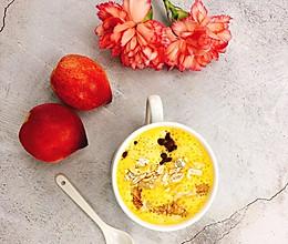颜值与营养兼具的减肥餐 | 牛奶燕麦南瓜糊的做法