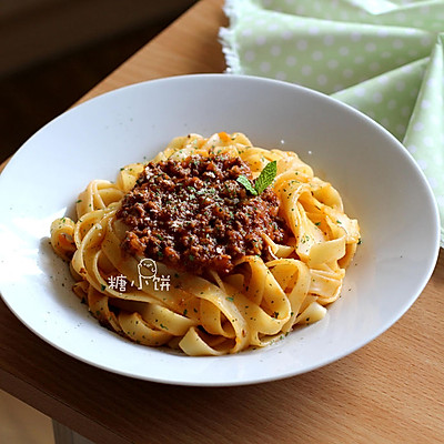 【Bolognese肉酱意面】经典传统款肉酱意面