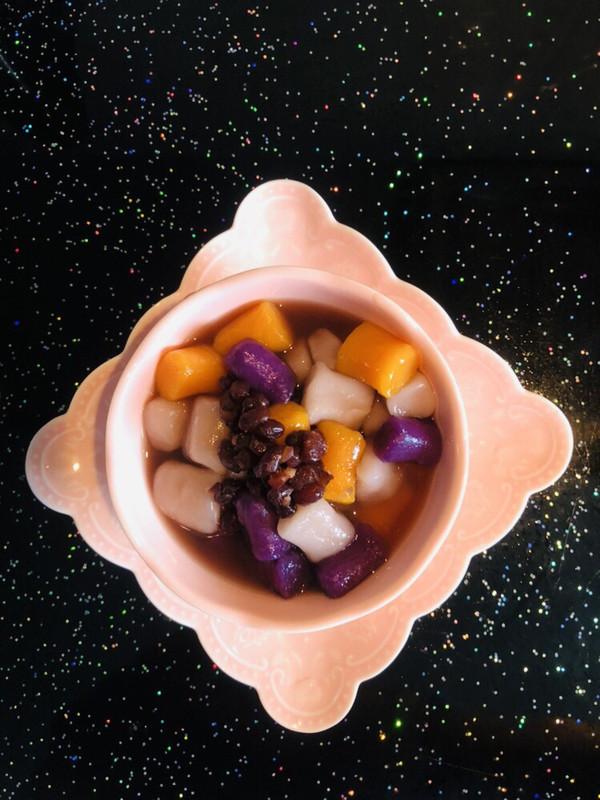 手工红豆芋圆#甜品#