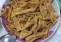 素炒腐竹的做法
