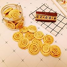 #新年开运菜,好事自然来#海苔肉松饼干