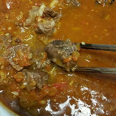 秘制番茄烧牛肉