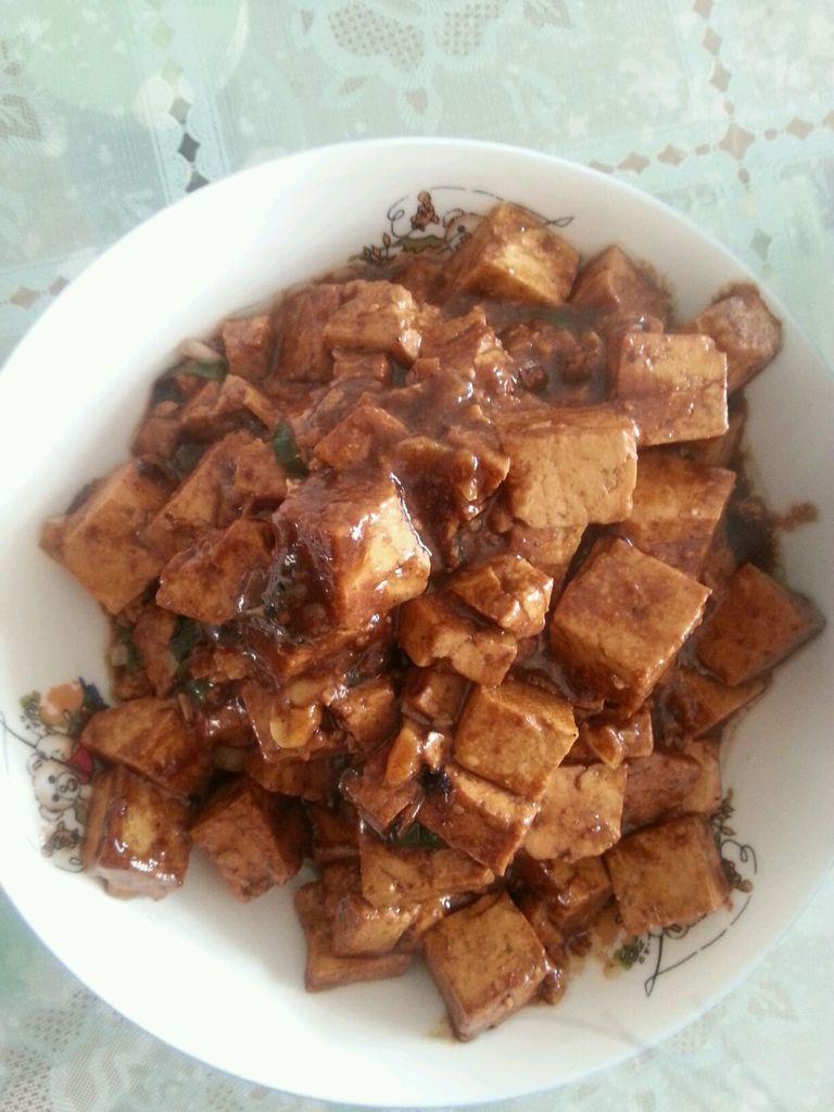 家常酱炒豆腐