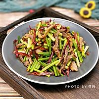 蒜苔肉丝的做法图解10