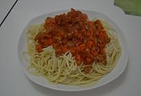 #百吉福创意芝士早餐#西红柿牛肉意大利面的做法