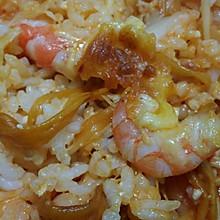 鲜虾芝士焗饭