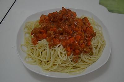 西紅柿牛肉意大利面