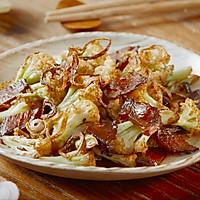 【干煸花菜】这样炒菜配米饭,干香入味一级鲜!的做法图解5
