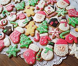超详细【圣诞糖霜饼干】一次教你N款饼干造型的做法