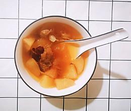 秋季润肺润嗓养生汤的做法