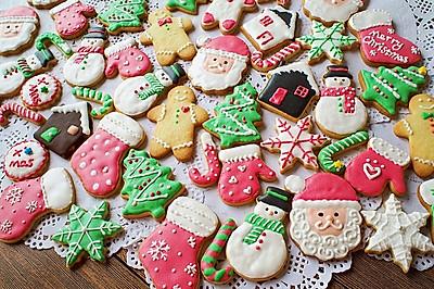 超详细【圣诞糖霜饼干】一次教你N款饼干造型