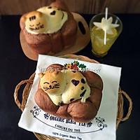 我愿化作一只喵,卧在面包上——学做懒猫吐司大赛的做法图解18