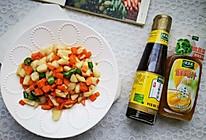 #太太乐鲜鸡汁芝麻香油#快手菜清炒马蹄胡萝卜的做法